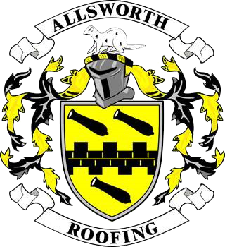 an image of allsworth roofing logo